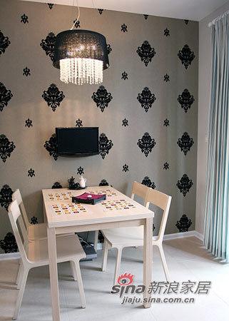 简约 三居 餐厅图片来自用户2738845145在12万硬装+7万软装浪漫三室美居49的分享