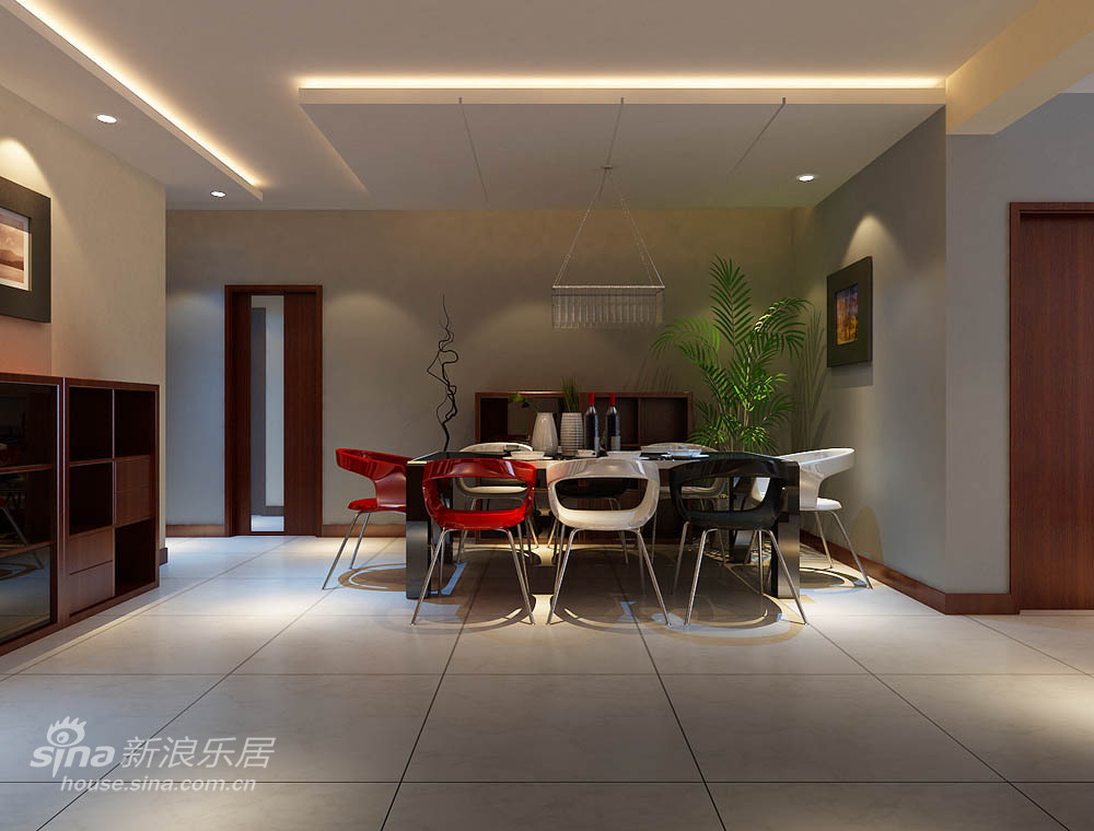 其他 三居 客厅图片来自用户2771736967在一套户型3种方案内含报价68的分享