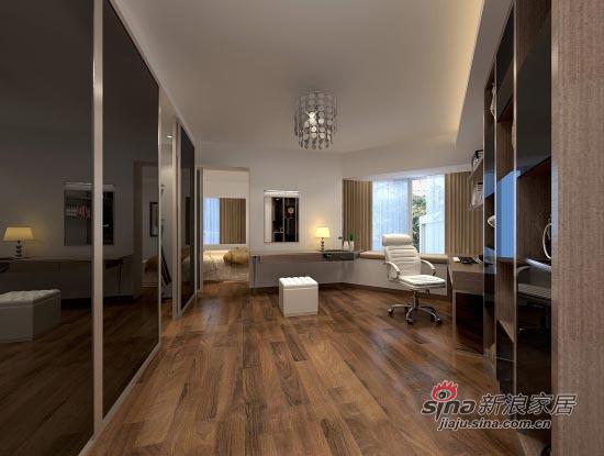 简约 二居 书房图片来自用户2737759857在109平米简约舒适2居室14的分享
