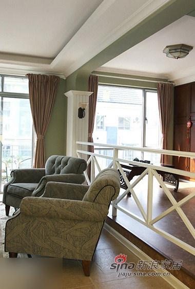 田园 跃层 客厅图片来自用户2557006183在小白领赖上美式风格 实拍30万元跃层装修224的分享