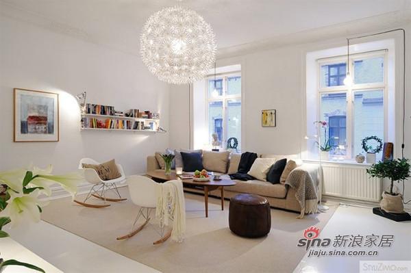 极简纯色主义4.5万装修90平时尚公寓
