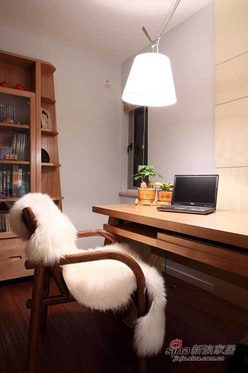 简约风格-客厅书房