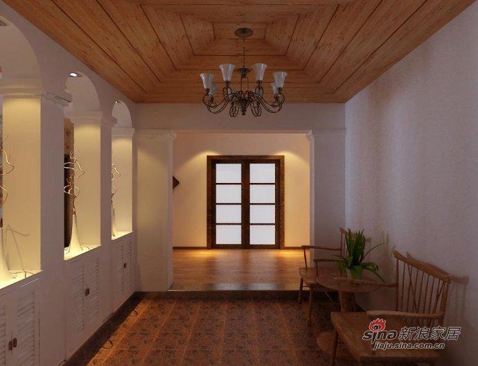田园 二居 客厅图片来自用户2737791853在7.6万装老房100平田园二居18的分享
