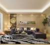 温馨客厅设计沙发背景墙1