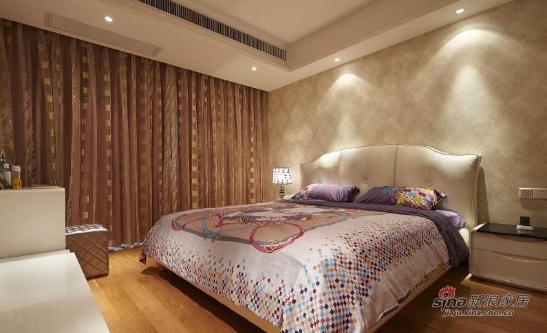简约 三居 卧室图片来自用户2737759857在160平方俏皮有爱大宅20的分享