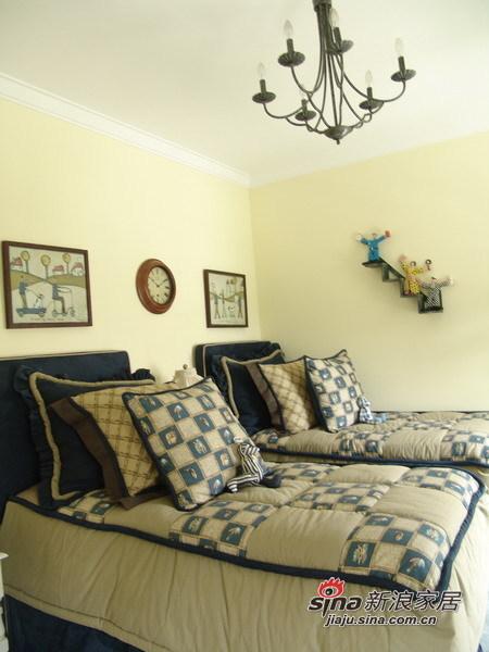 新古典 别墅 卧室图片来自用户1907664341在新古典独栋别墅·自然花园59的分享