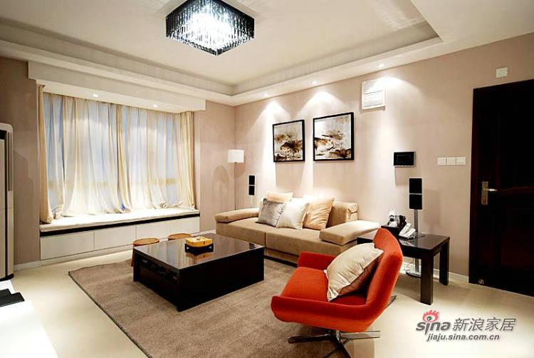 简约 三居 客厅图片来自用户2559456651在4万2打造120平现代简约家77的分享