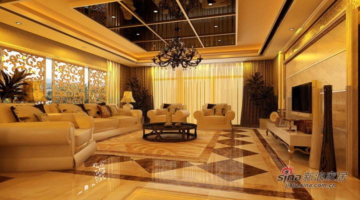 欧式 三居 客厅图片来自用户2745758987在8.4万精心打造136平简欧范儿【漫步巴黎】94的分享