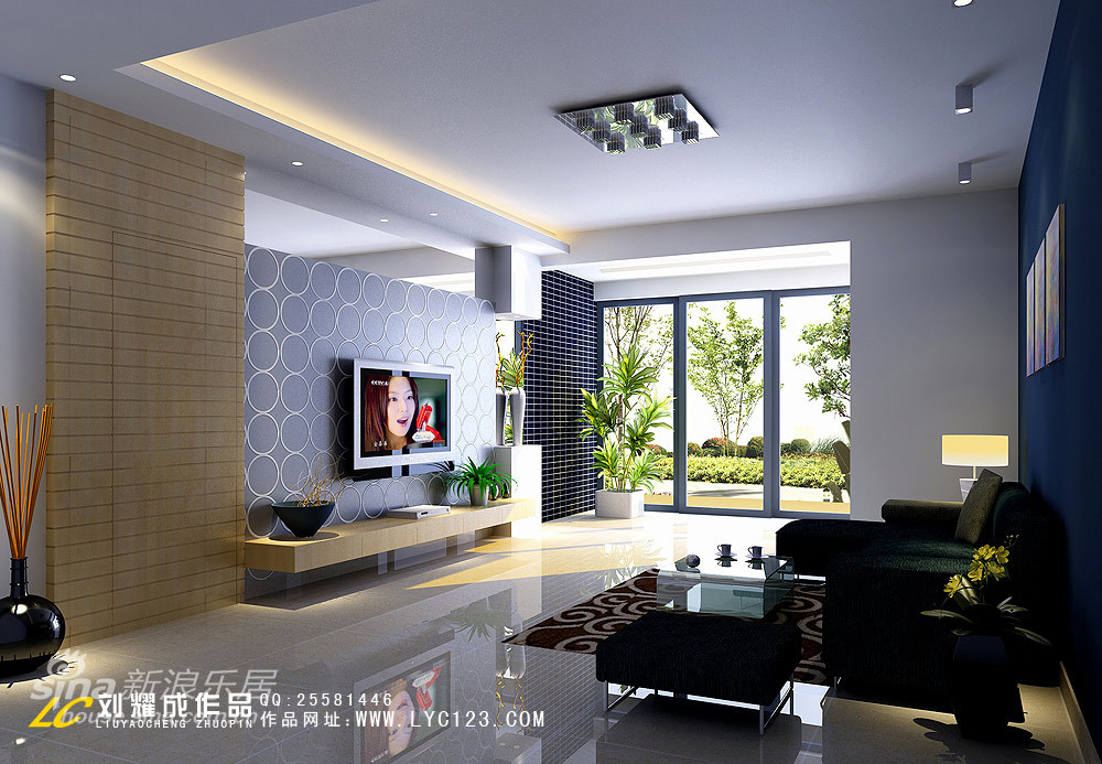 简约 三居 客厅图片来自用户2738820801在阳光明媚的花园式房子16的分享