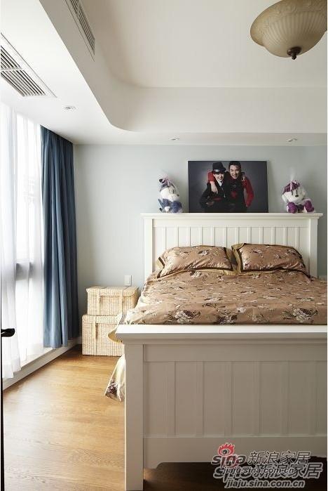 地中海 三居 卧室图片来自用户2756243717在6.8万元装扮温暖歉意的婚房72的分享