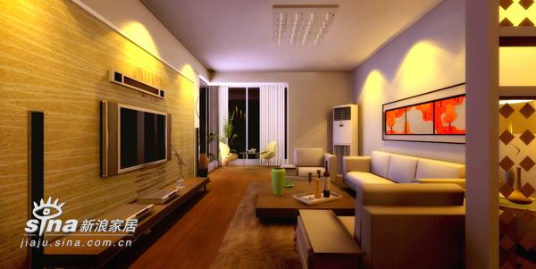 简约 二居 客厅图片来自用户2737735823在简约现代风格63的分享