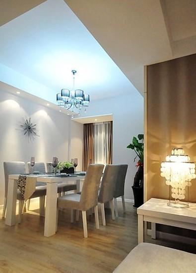简约 三居 餐厅图片来自用户2738093703在6.5万完美呈现简约风格三居室17的分享