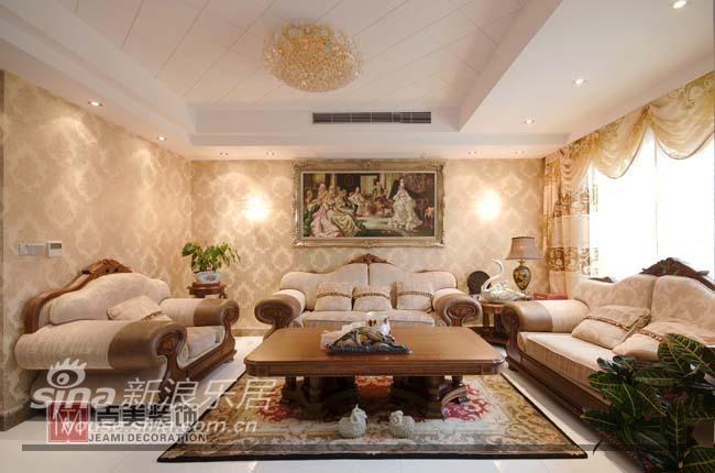 欧式 别墅 客厅图片来自用户2746889121在经典欧式46的分享