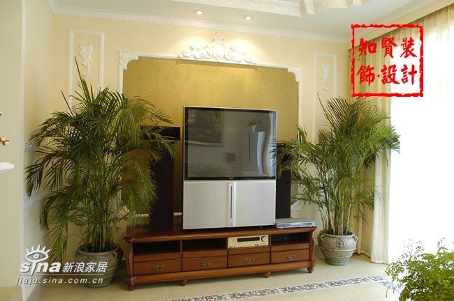 简约 三居 客厅图片来自用户2738093703在知贤装饰五81的分享