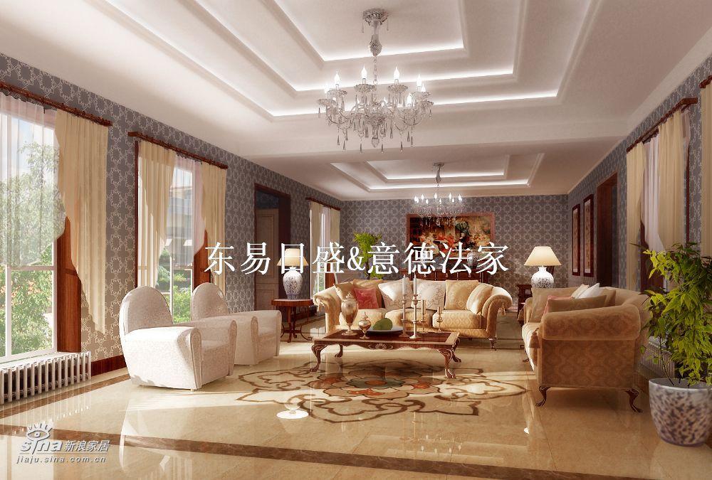 欧式 别墅 客厅图片来自用户2772856065在香山清琴(西山别墅)25的分享