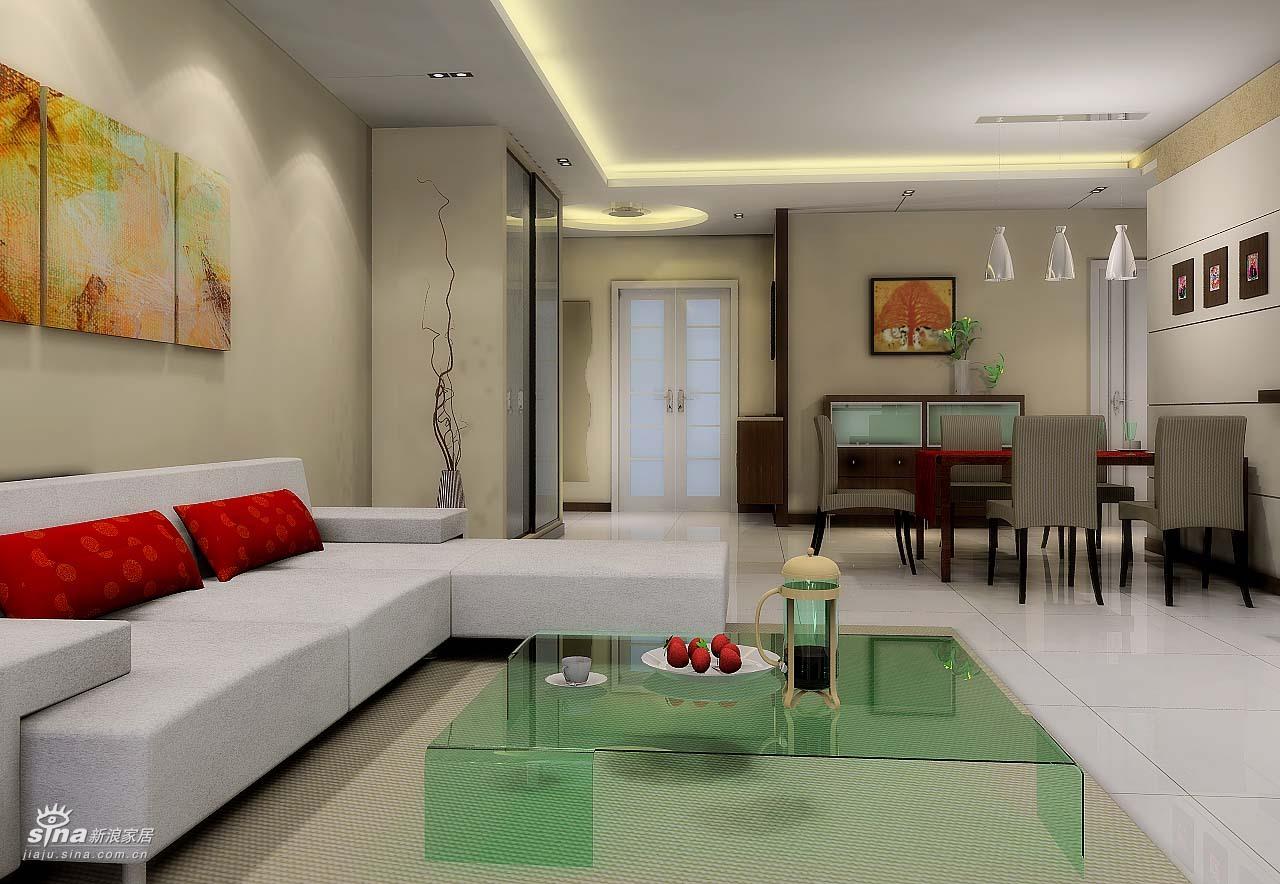 简约 二居 客厅图片来自用户2739081033在金源设计师出品38的分享