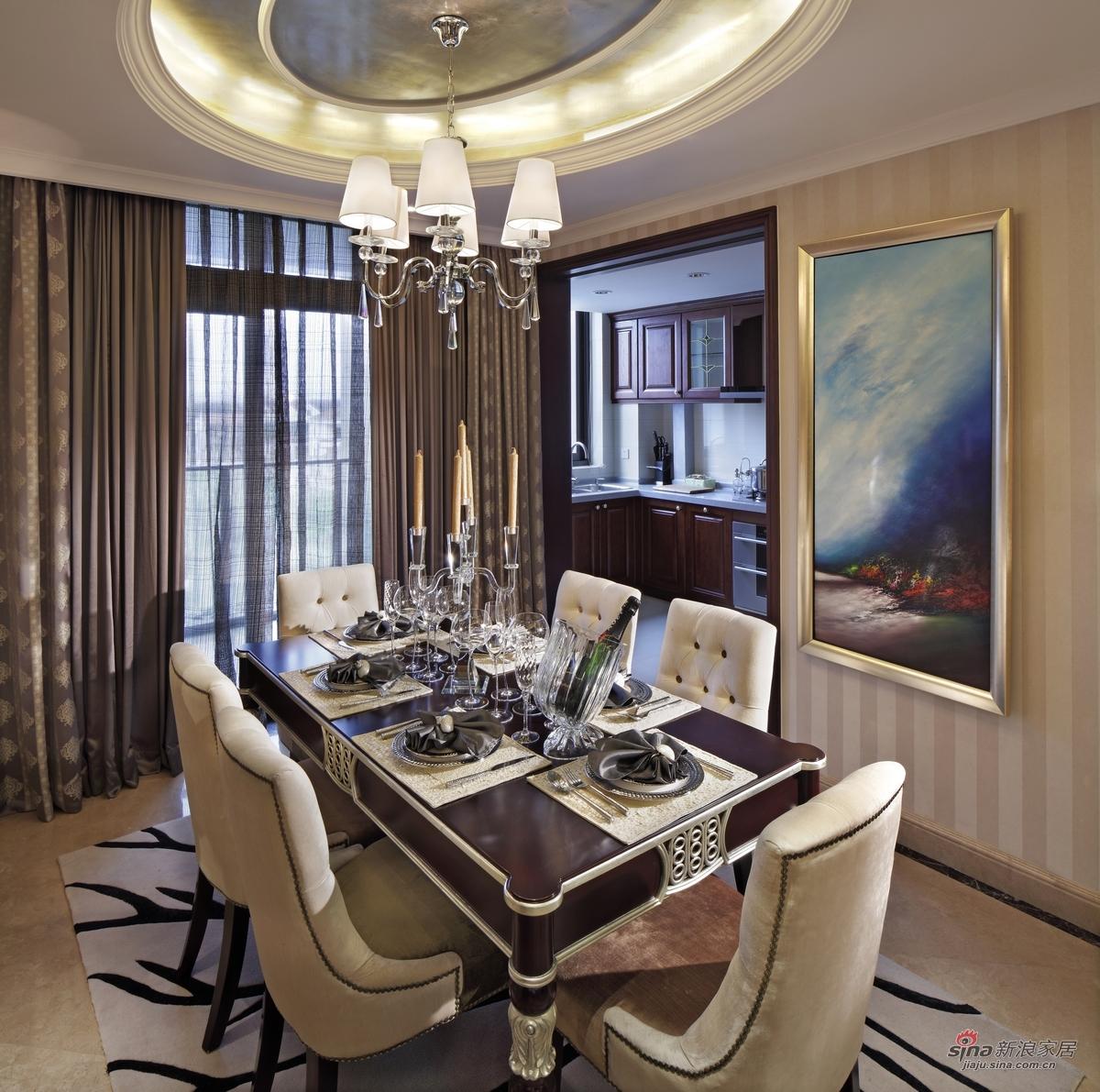 简约 四居 餐厅图片来自用户2739081033在【高清】21万装修140平米大户型17的分享