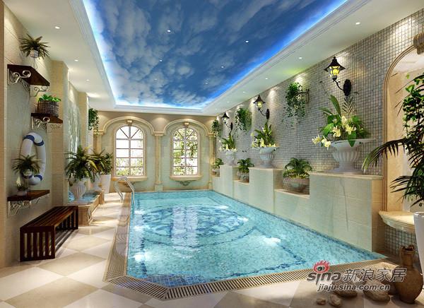 游泳池设计效果图