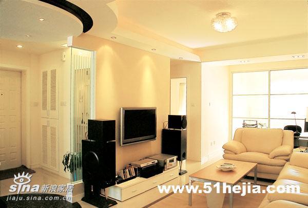 简约 二居 客厅 宜家 80后 旧房改造 白领图片来自用户2737735823在暖色调营造温馨舒适83的分享