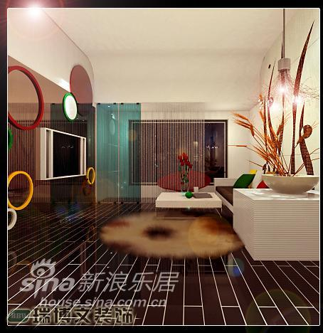 简约 二居 客厅图片来自用户2556216825在简约90平两居63的分享
