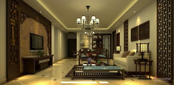 银基王朝170平三室两厅新古典风格