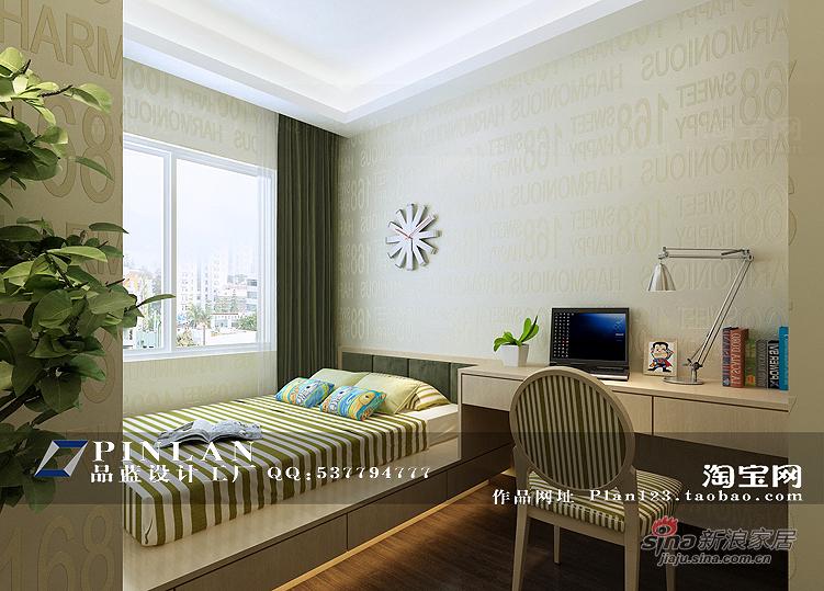 简约 四居 儿童房图片来自用户2739378857在【高清】16万装149平锦绣华城现代简约99的分享