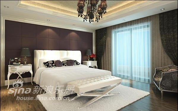 欧式 三居 卧室图片来自用户2557013183在温歌华森林 华丽欧式风14的分享