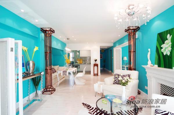 其他 三居 客厅图片来自用户2557963305在7万打造蓝色另类家33的分享