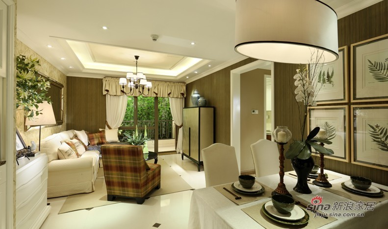 田园 二居 客厅图片来自用户2557006183在仅5万巧装90平小清新森女系风格家居68的分享