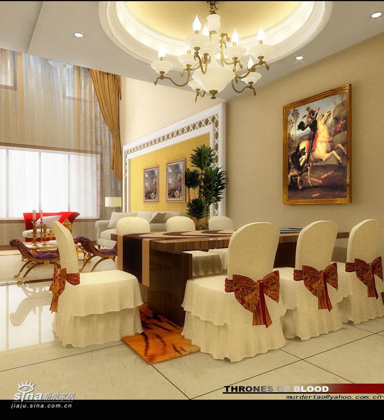 """欧式 别墅 餐厅图片来自用户2557013183在阔达装饰——艺""""墅""""59的分享"""