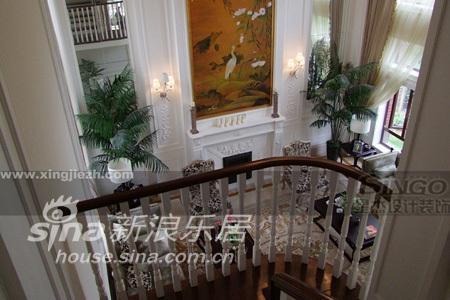 欧式 别墅 楼梯图片来自用户2746953981在绿州比华利91的分享