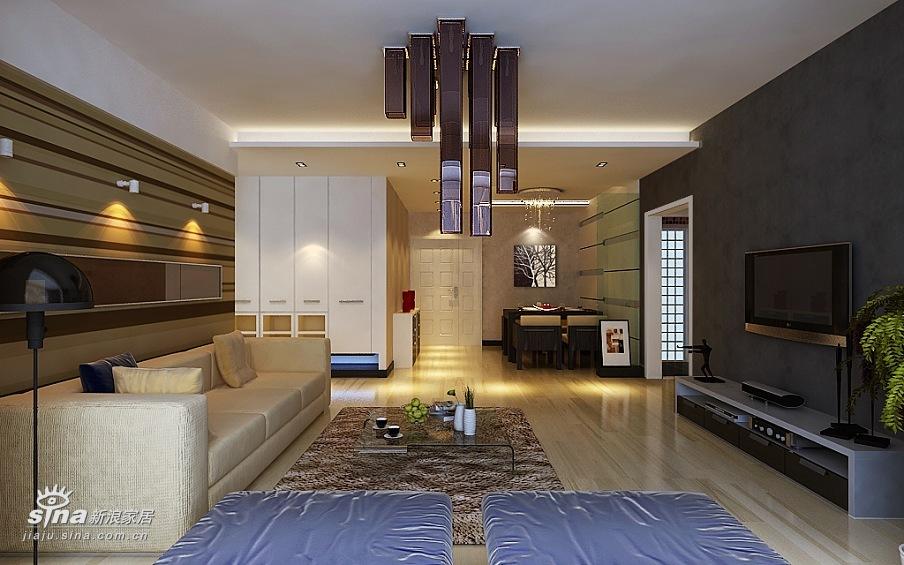 简约 三居 客厅图片来自用户2738820801在方庄6号简约设计84的分享