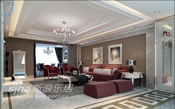 欧式 三居 客厅图片来自用户2557013183在温歌华森林 华丽欧式风14的分享