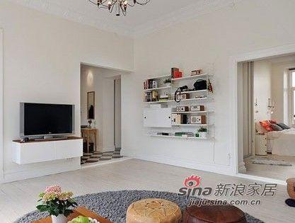 北欧 二居 客厅图片来自用户1903515612在夫妻96平纳维亚风格三居室51的分享