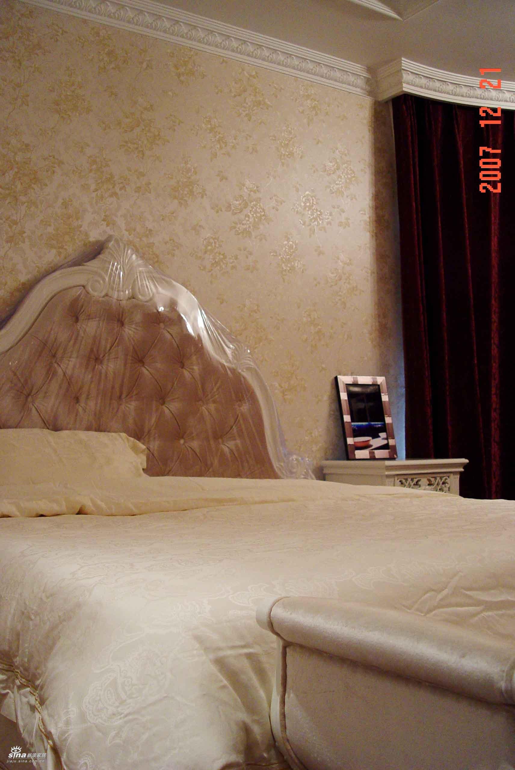 欧式 三居 卧室图片来自用户2757317061在珠江绿洲37的分享