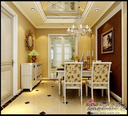 简约 三居 餐厅图片来自用户2559456651在8万8打造甜蜜欧式3居室·温情家居13的分享