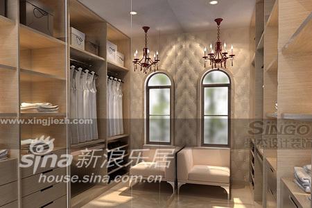 欧式 别墅 衣帽间图片来自用户2557013183在佘山别墅50的分享