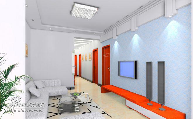 简约 二居 客厅图片来自用户2557010253在家装92的分享