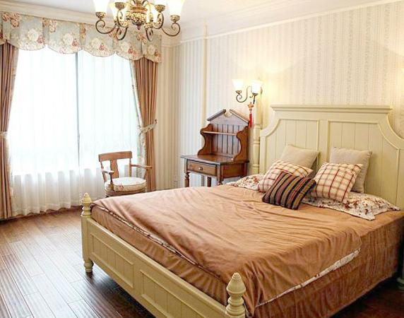 田园 二居 卧室图片来自用户2737791853在20万装110平田园简约混搭舒适居33的分享
