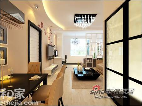 简约 二居 客厅图片来自用户2738845145在80后白领6万简约幸福婚房23的分享