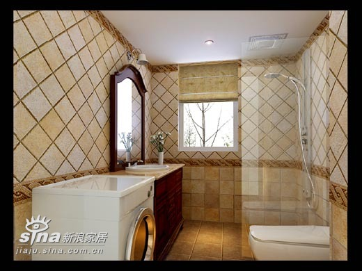 简约 一居 卫生间图片来自用户2738813661在年轻夫妻乡村风格三室两厅87的分享