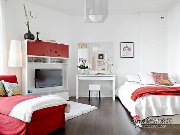 单身族的40平优雅一居室