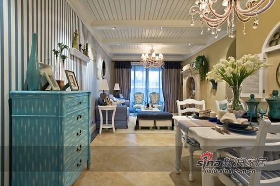 地中海 二居 餐厅图片来自用户2756243717在5.8万打造恒祥城100平地中海两居67的分享