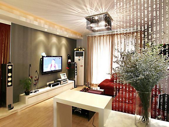 简约 一居 客厅图片来自用户2737759857在65平一居婚房87的分享