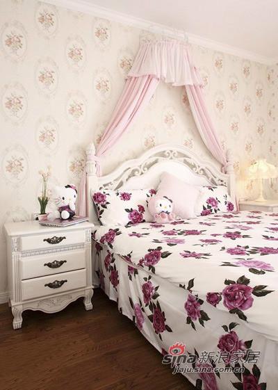 田园 三居 卧室图片来自用户2737791853在130平偏偏爱上你的美式田园家装53的分享
