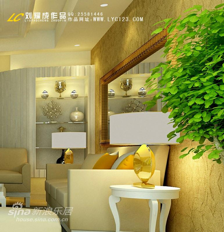 欧式 三居 客厅图片来自用户2746953981在现代欧式风格28的分享