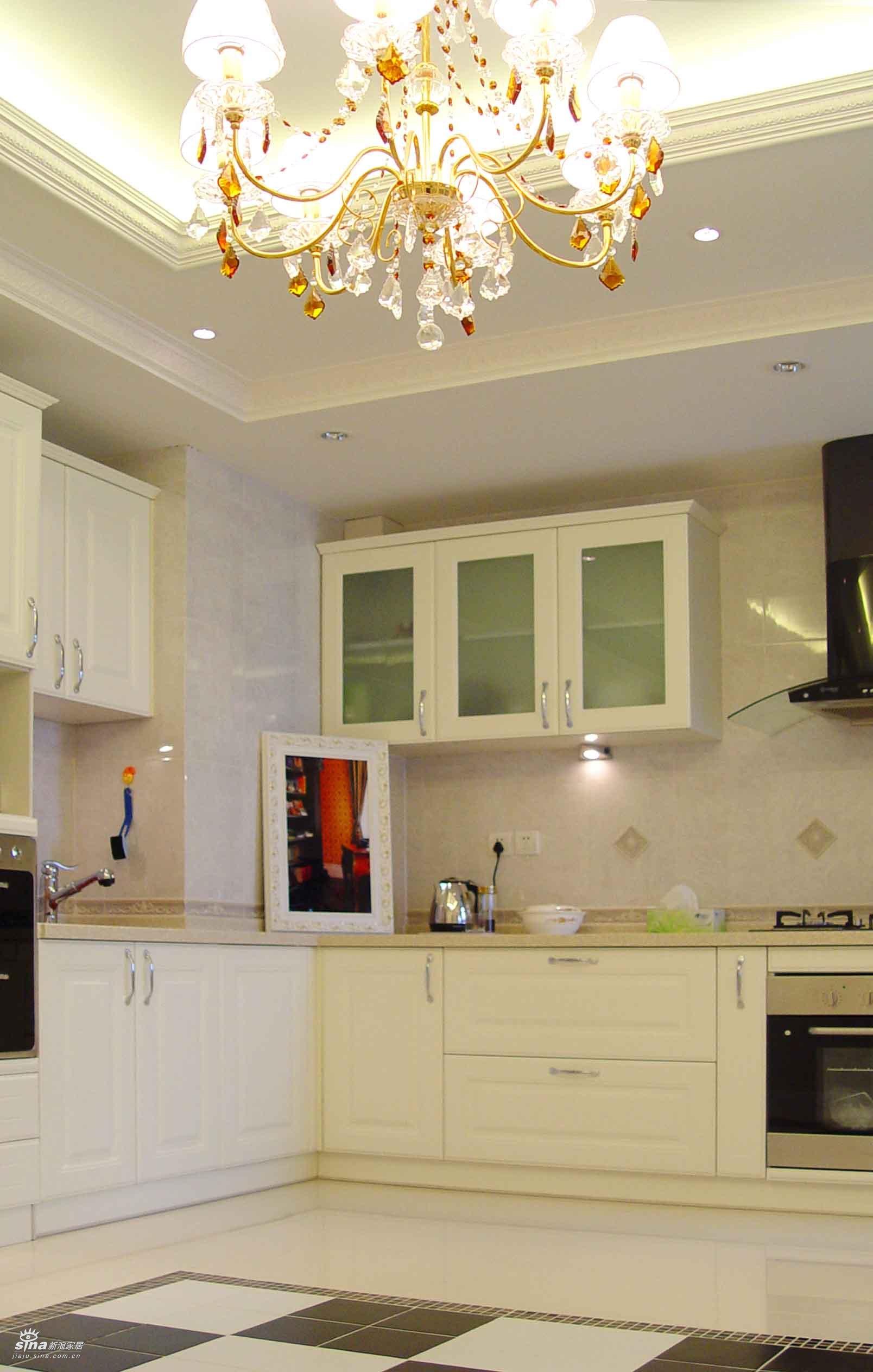 欧式 三居 厨房图片来自用户2757317061在珠江绿洲37的分享