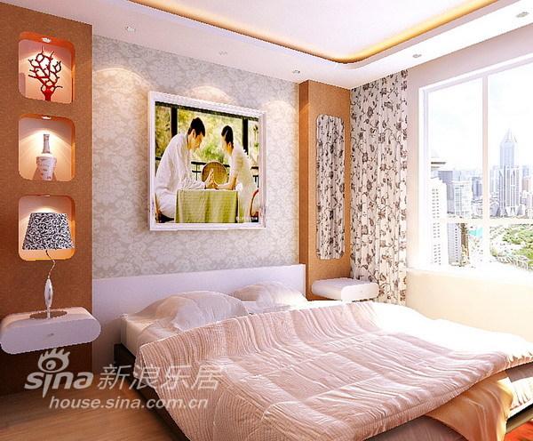 简约 一居 卧室图片来自用户2738820801在80平明亮清爽充满朝气的两居室47的分享