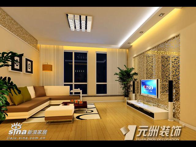简约 三居 客厅图片来自用户2738093703在北京香颂76的分享
