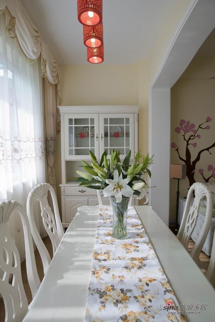 田园 二居 餐厅图片来自用户2737946093在【高清】小资6.8万打造90平田园美家31的分享